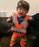 Emmet Lego Man Homemade Costume