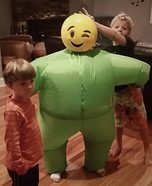 Emoji Blimp Homemade Costume