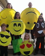 Emoji Family Homemade Costume