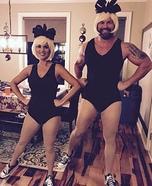 Emoji Twin Ballerinas Homemade Costume