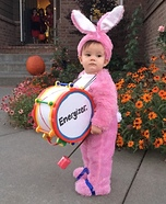 Energizer Baby Homemade Costume