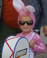 Energizer Bunny Homemade Costume