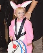 Energizer Bunny Homemade Costume