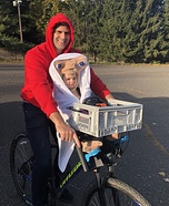 E.T. Homemade Costume