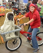 E.T and Elliot Homemade Costume