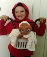 ET and Elliot Homemade Costume