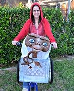 E.T. and Elliott Homemade Costume