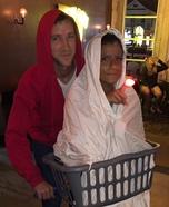 ET and Elliott Homemade Costume