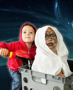 E.T. Classic Homemade Costume