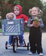 ET, Elliot & Gertie Homemade Costume