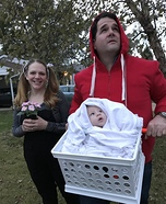 ET Family Homemade Costume