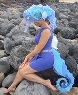 Homemade Seahorse Costume