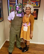 Eustace and Muriel Homemade Costume