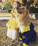 Every Beauty needs a Beast Homemade Costume