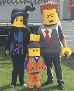 Everything is Awesome Homemade Costume