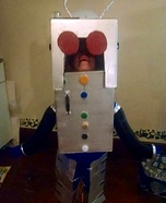 Evil Alien Robot Homemade Costume