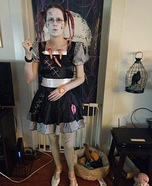 Evil Broken Doll Homemade Costume