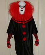 Evil Clown Homemade Costume