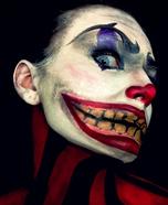 Evil Clown Makeup