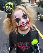 Evil Clown Homemade Costume