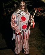 Homemade Evil Killer Clown Costume
