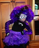 Evil Minion Costume for a Girl