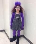 Evil Minion Girl Homemade Costume