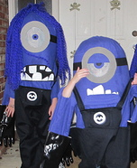 Evil Minions Homemade Costumes