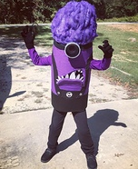 Evil Purple Minion Homemade Costume