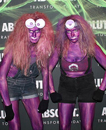 Evil Purple Minions Homemade Costume