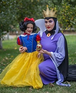 Evil Queen and Snow White Homemade Costume