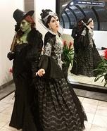 Evil Queen Regina and Wicked Witch Zelena Homemade Costume