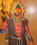Evil Scarecrow Pumpkin Homemade Costume