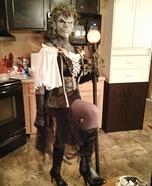 Evil Sorceress Homemade Costume