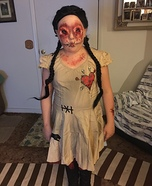 Evil Voodoo Doll Homemade Costume