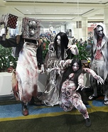 Evil Within Family Homemade Costume