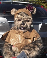 Homemade Ewok Costume for Kids