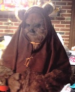 Ewok Homemade Costume