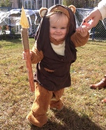 DIY baby costume ideas: Ewok Baby Costume