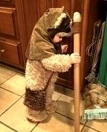 DIY Ewok Baby Costume