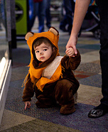 Cutest Halloween costumes for babies - Homemade Ewok Toddler Costume