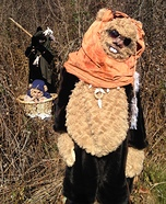 Ewoks Homemade Costume
