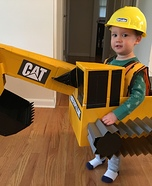 Excavator Homemade Costume