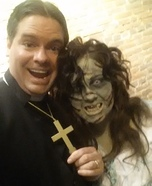Exorcist Couple Homemade Costume