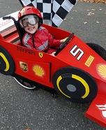 F1 Ferrari Driver Homemade Costume