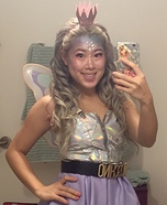 Fairy Alien Princess Homemade Costume