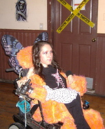 Fairy On Wheels Homemade Costume