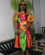 Fairy Queen of Flower Homemade Costume