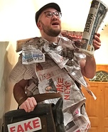 Fake News Homemade Costume