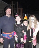Family Group Homemade Costumes